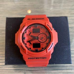 Casio G-Shock Watch- Orange
